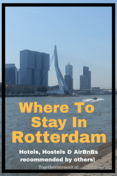Looking for where to stay in Rotterdam for a week or weekend trip? Check out these recommendations and reviews by other travellers!