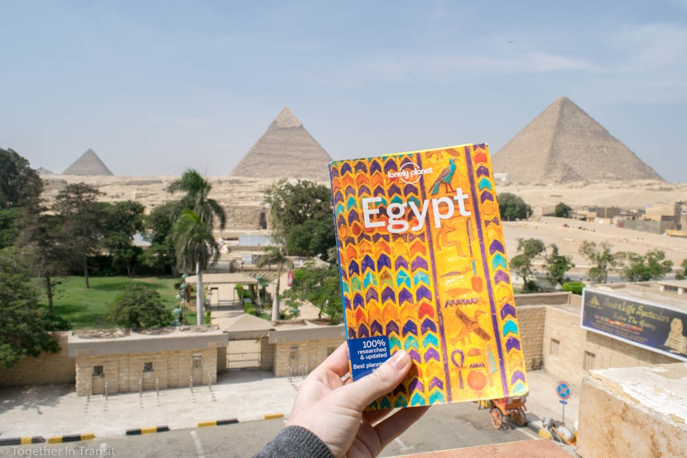 Ultimate Egypt Vacation: Using the Lonely Planet guide of 2018 during our vacation was perfect to know more tips and read more about each location.