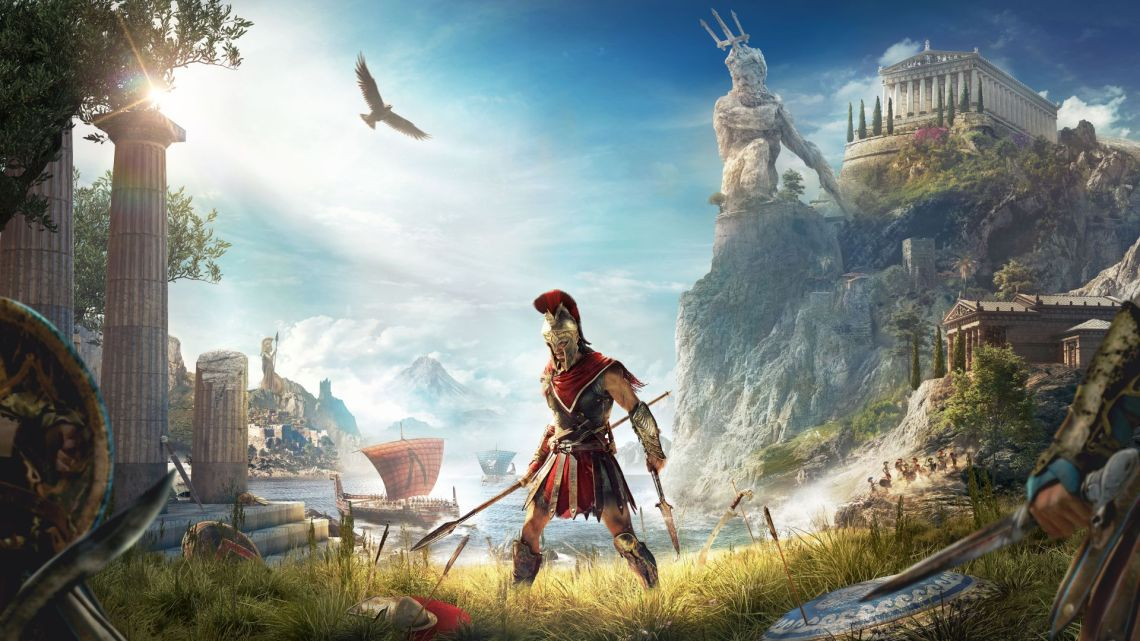 Check out our post showing Assassin's Creed Odyssey comparison photo between the gameplay and real life in Greece! #gaming #travel #greece
