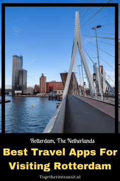 Check out the Best Travel Apps For Visiting Rotterdam, Netherlands #travel #Rotterdam #Apps