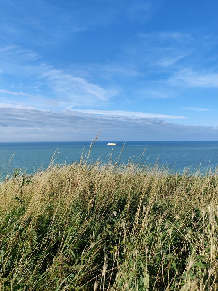 Sea view in Dieppe