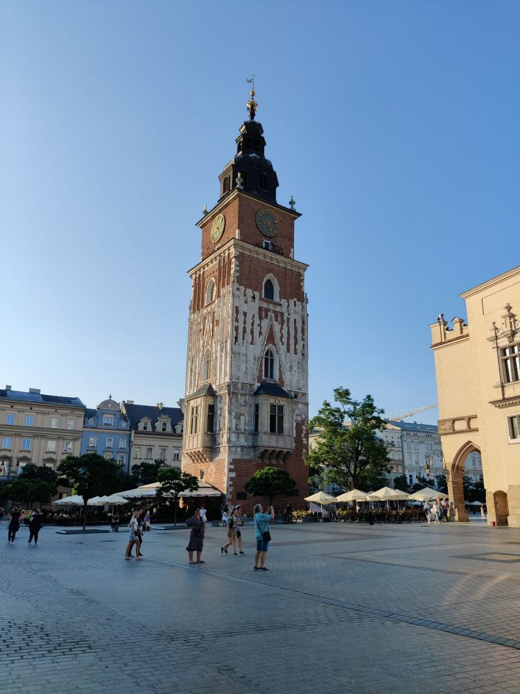 Clock Tower in Krakow
