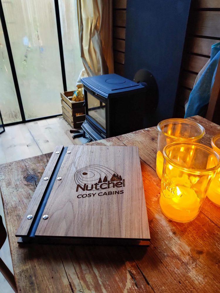 Nutchel book in the cabin