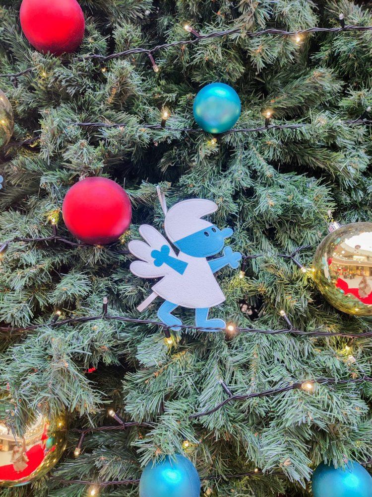 Christmas Smurf Decoration