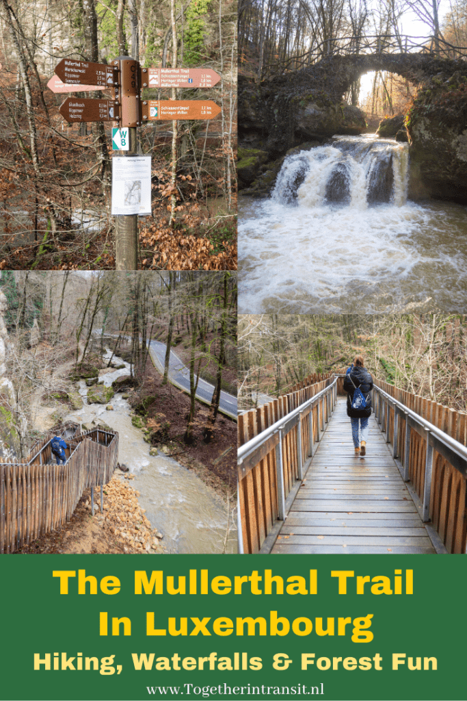 The Mullerthal trail in Luxembourg is one of the prettiest nature trails to visit all year round. There are routes for all ages and difficulties. With pretty waterfalls and unique rock formations, its well worth your visit during your stay in Luxembourg. Mullerthal Trail | Things To Do Luxembourg | Hiking In Luxembourg | Luxembourg Hiking | Mullerthal Hiking | Hiking In Nature | Luxembourg Adventures #luxembourg #mullerthaltrail #hikingluxembourg #forestwalk #luxembourghiking