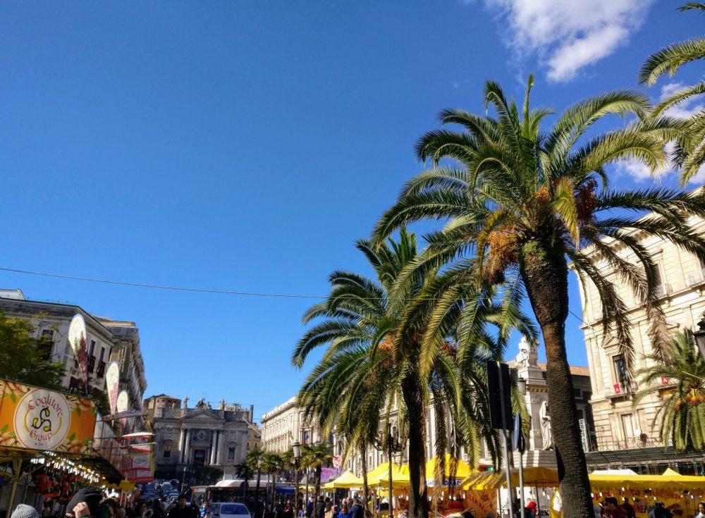 Catania City In Italy