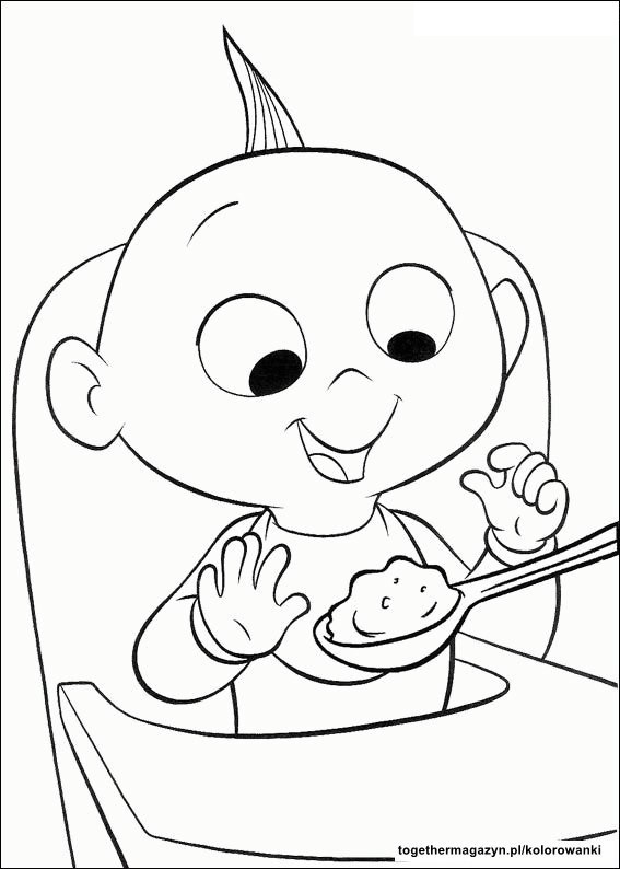 Eten Colouring Pages