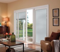 Triple Pane Sliding Glass Door With Blinds | Sliding Doors