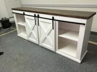 White Tv Cabinet With Sliding Doors   Sliding Doors