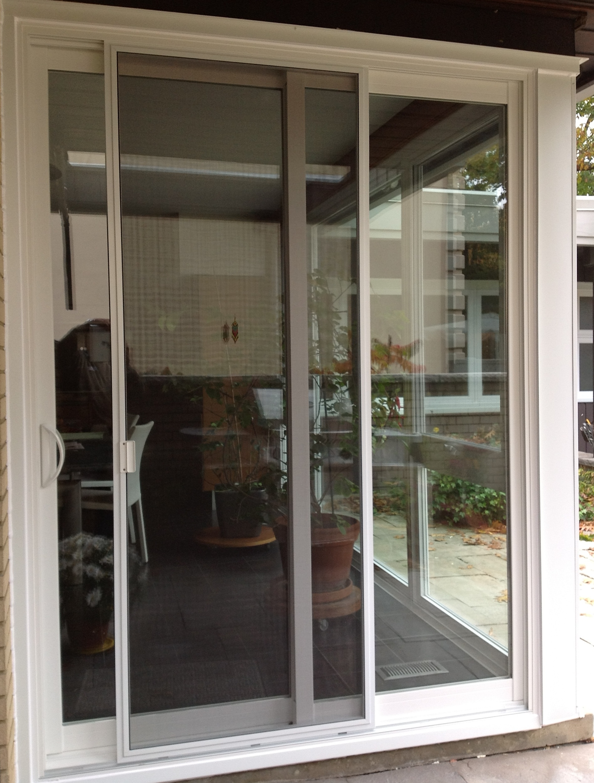 Sliding Screen Door For Apartment Balcony