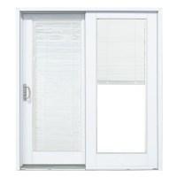 60 X 80 Sliding Patio Door With Blinds