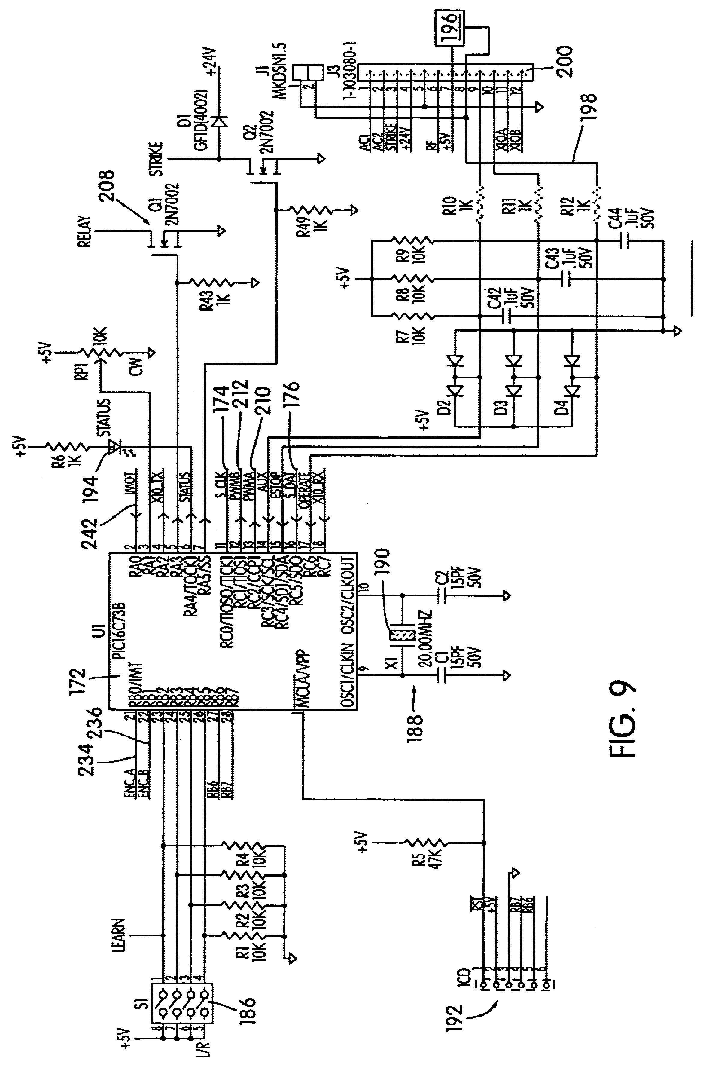 automatic doorman wiring diagrams