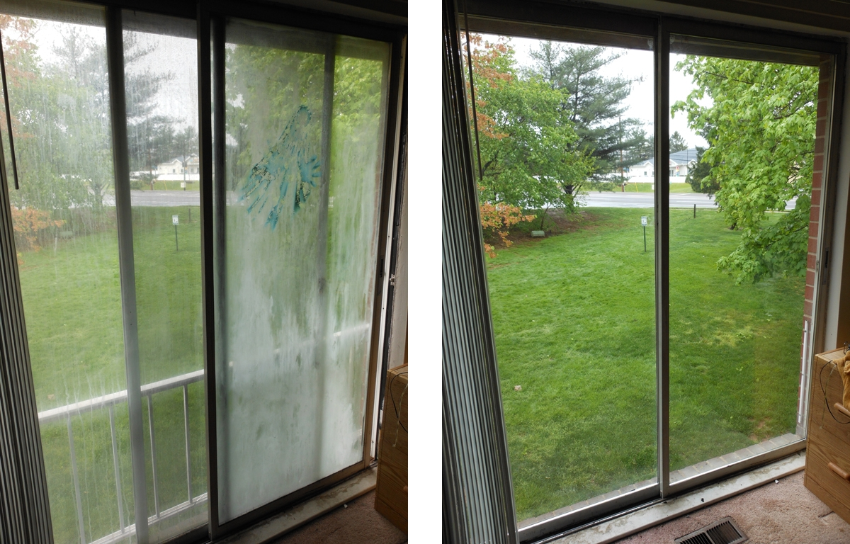 Sliding Glass Door Seal Broken
