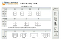 Standard Sliding Glass Door Sizes Image collections ...