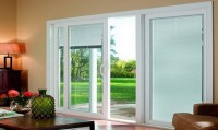 3 Panel Sliding Glass Door With Blinds | Sliding Doors