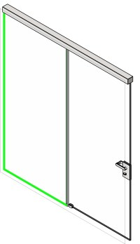 Single Panel Sliding Door Revit | Sliding Doors
