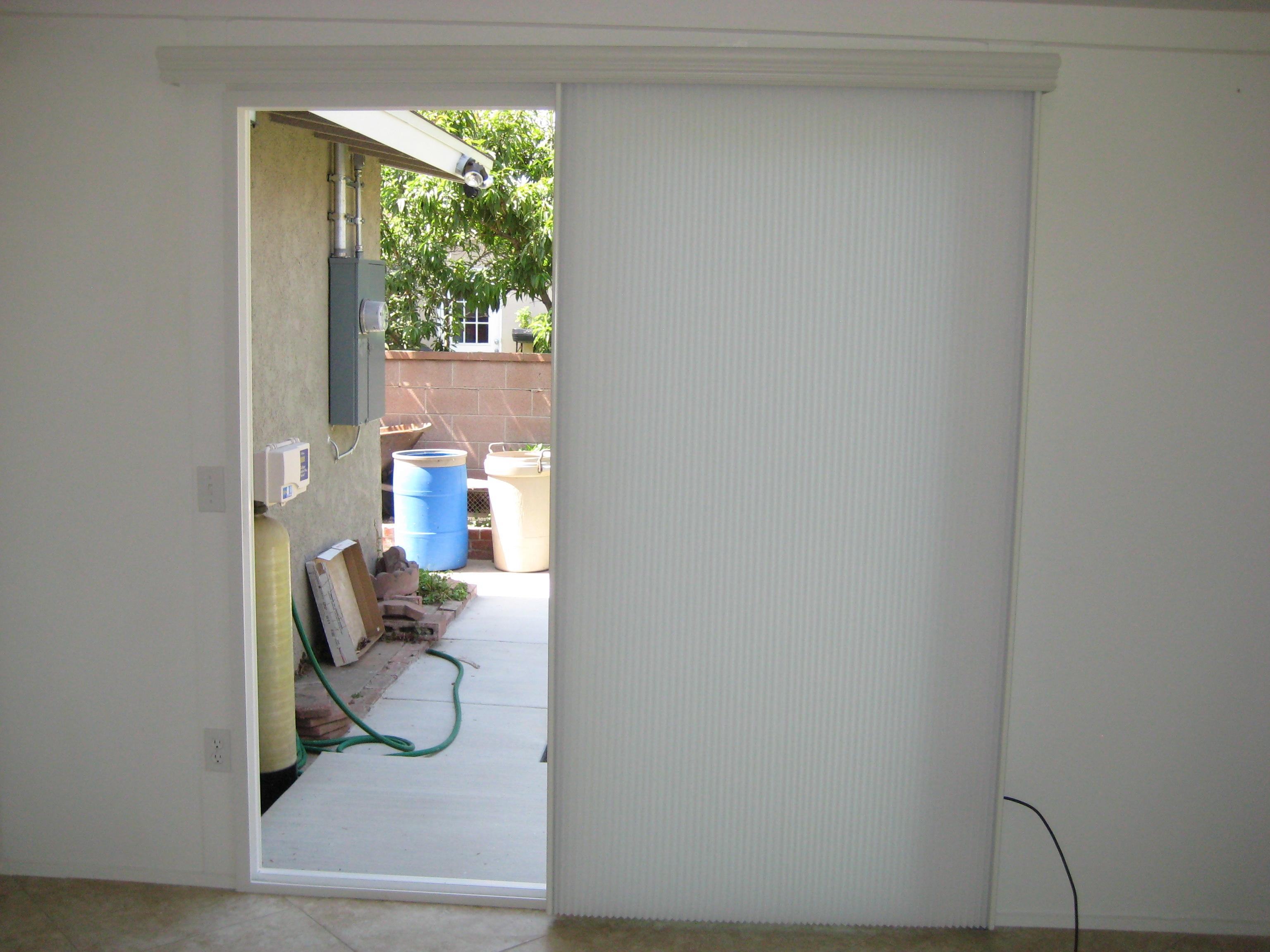 vertical cellular blinds sliding glass