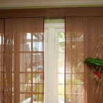Bamboo Vertical Blinds Sliding Glass Doors Sliding Doors