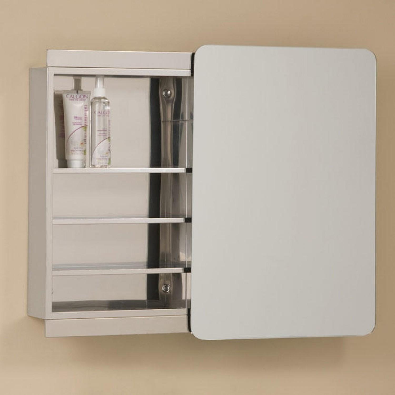 Delicieux Recessed Medicine Cabinet With Sliding Mirror Doors