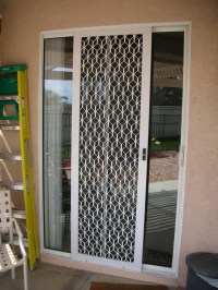 Sliding Glass Screen Door Security