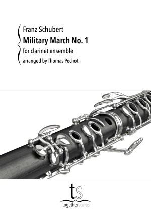 Partitions Ensemble Clarinettes Marche Militaire n°1