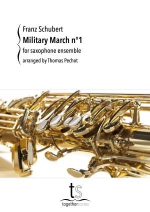 Partituren / Bladmuziek Saxofoon Ensemble Militaire Mars Nr. 1