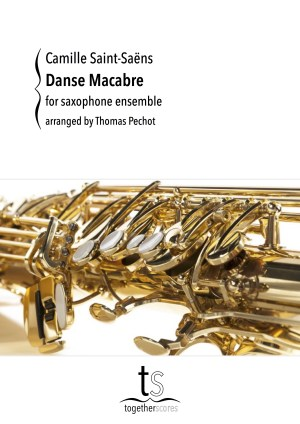 Partituren Bladmuziek Saxofoon Ensemble Danse Macabre