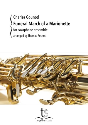 Partituren Bladmuziek Saxofoon Ensemble Funeral March Gounod
