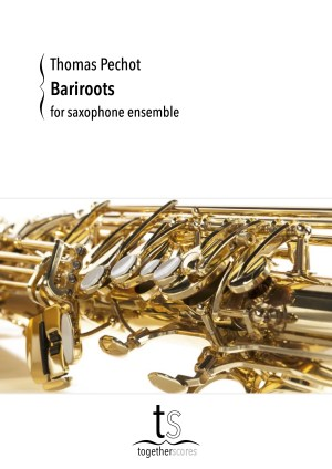 Partituren Bladmuziek Saxofoon Ensemble Bariroots