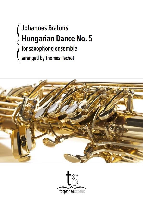Partitions pour ensemble de saxophones danse hongroise n for Dans hongroise n 5