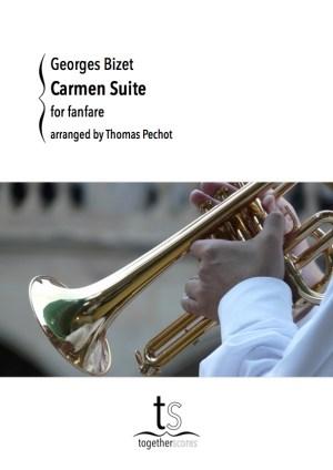 Partition Fanfare Carmen Suite