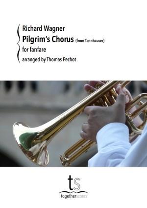 Partition Fanfare Pilgrim's chorus Wagner