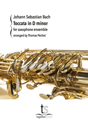Partition Ensemble Saxophone Toccata Bach