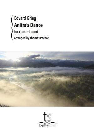 Partition Orchestre Harmonie Danse Anitra Grieg