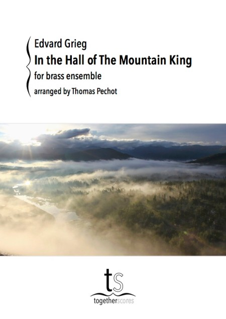 Partitions Cuivres Dans l'Antre du Roi de la Montagne Peer Gynt