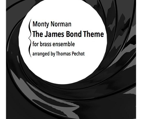 Brass Ensemble Sheet Music James Bond Theme