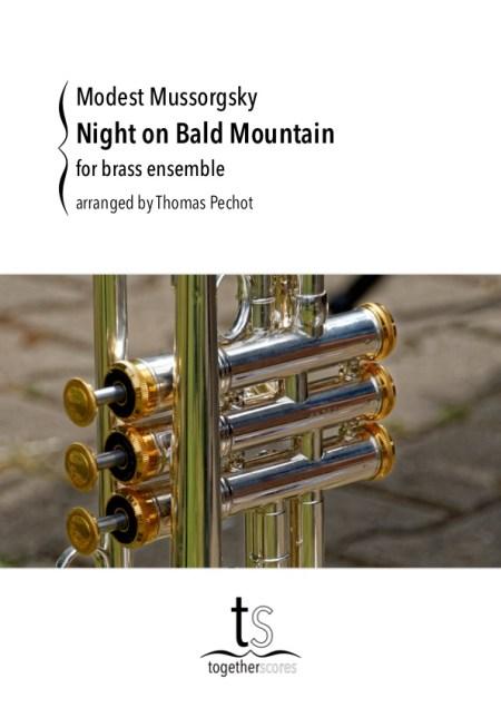 Partitions pour ensemble de cuivres nuit sur le mont chauve