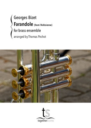 brass ensemble partituur farandole arlesienne bizet