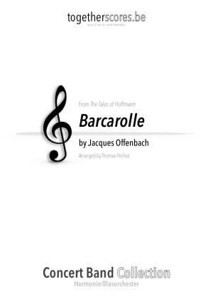 partitions harmonie barcarolle offenbach