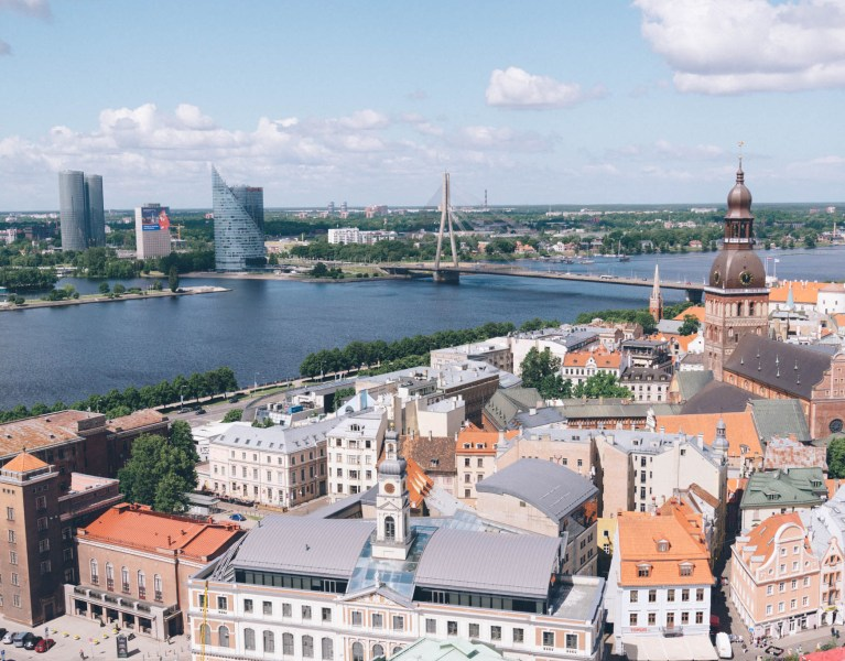 Where to Find Postcard Views of Riga