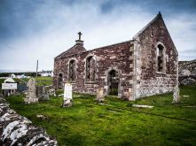Stoer Church and Graves