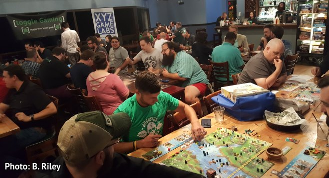 Tabletop Tuesday, 3 Sept 2019