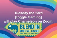 toggle Online plays Chameleon