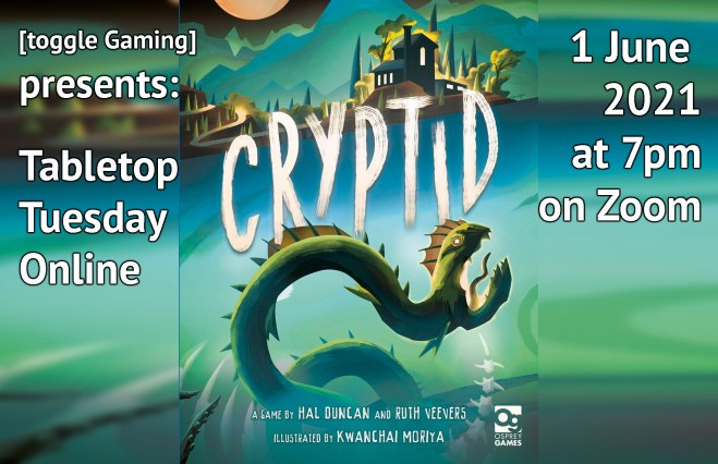 Play Cryptid with us!
