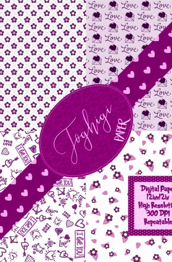 Sfondo pacchetti purple