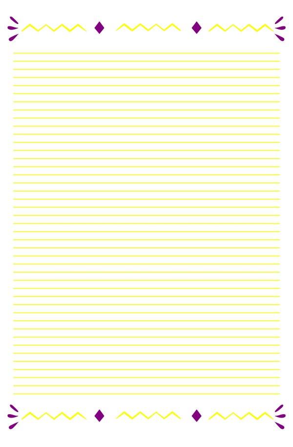 Carta da lettere da stampare gratis
