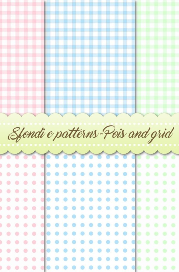 Sfondi e patterns-Pois and grid