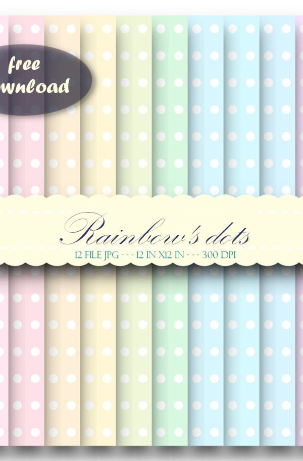 Rainbow's dots free download