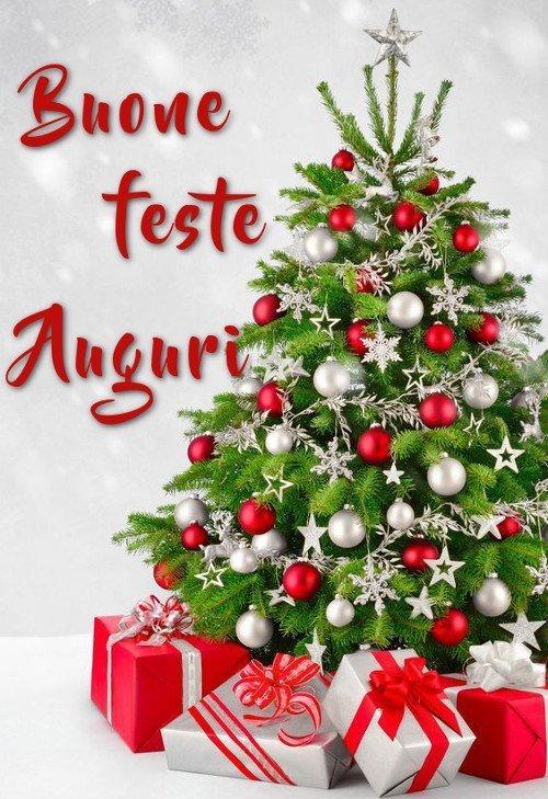 Buone feste auguri di buon Natale
