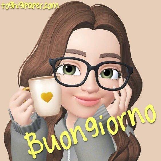 Buongiorno caffè autunno belle e nuove immagini gratis WhatsApp